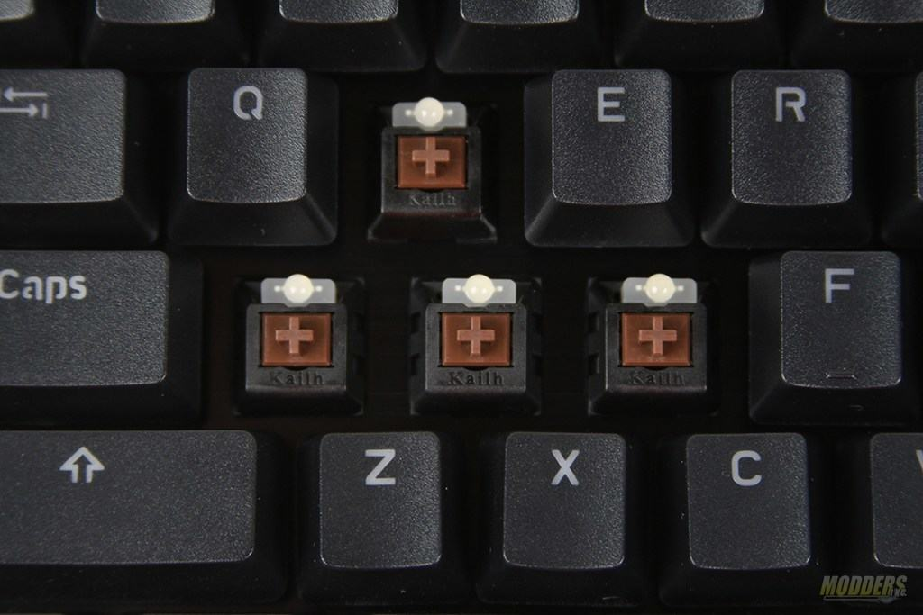 3- Mechanical Switches for Typing