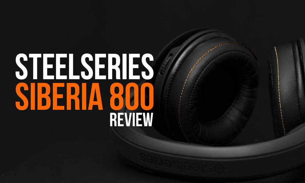 SteelSeries Siberia 800 Gaming Headset Review