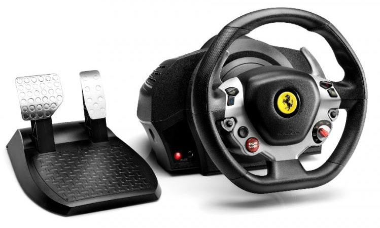 3- pc steering wheel with clutch and shifter