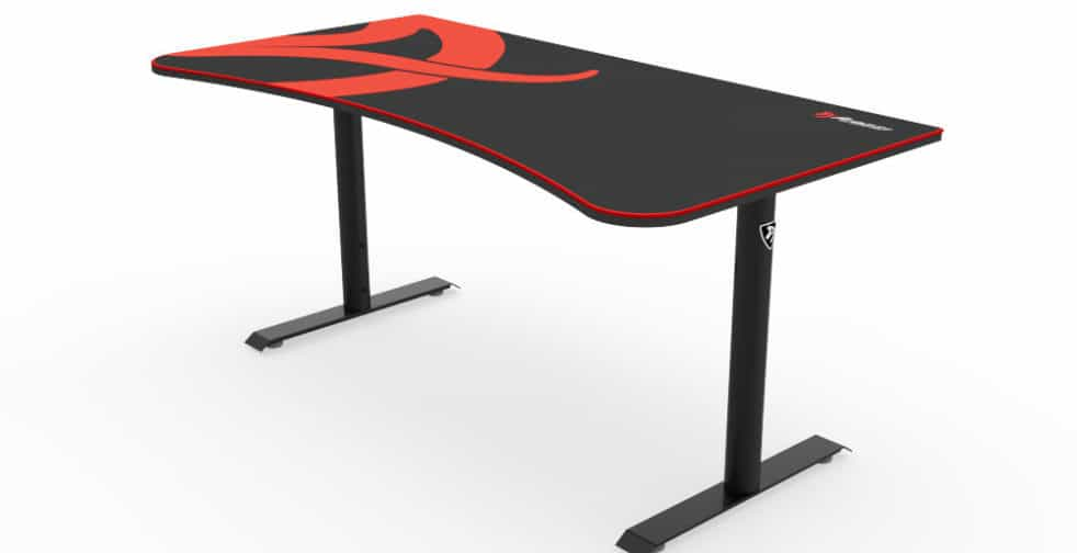 review of Arozzi Arena Gaming Desk