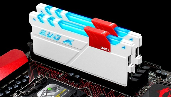 GEIL EVO LED RAM FOR GAMING (DDR4)