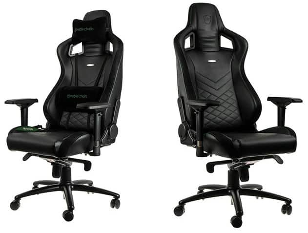 Nobelchairs EPIC Real Leather review