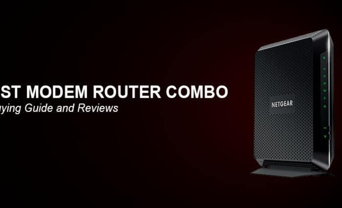 Best modem router combo 2018