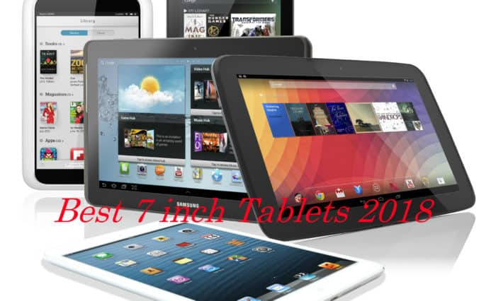 The Best 7 inch Tablets