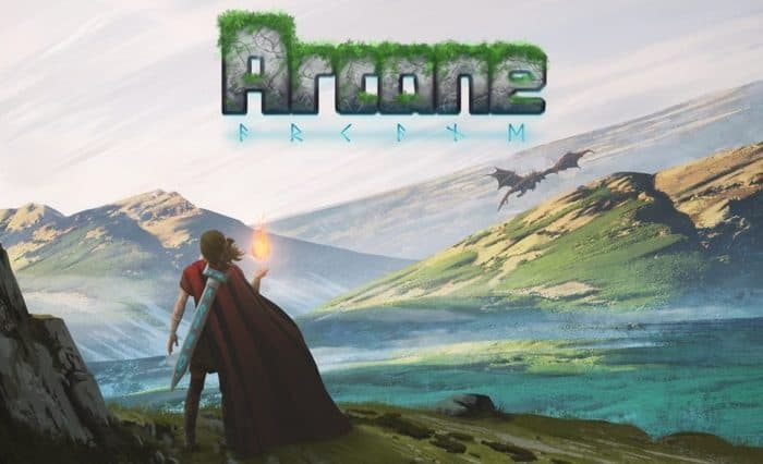 Pixel Adventure Game Arcane Hits Kickstarter