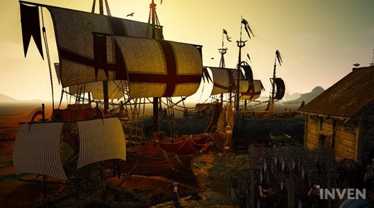 Black Desert Online KR Introduces New Ship,The Epheria Convoy