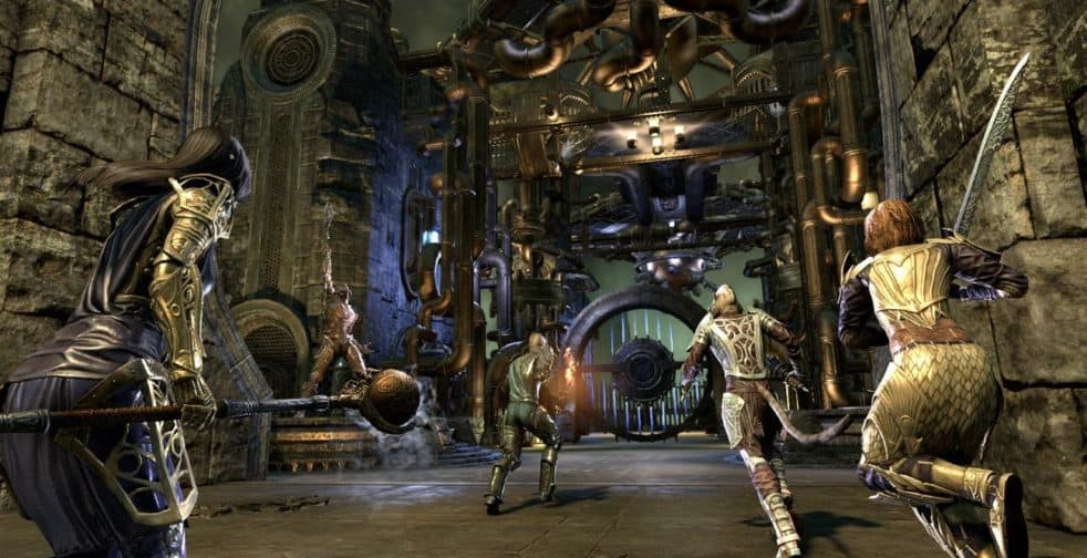 Elder Scrolls Online Released a Clockwork City and Update 16 Preview