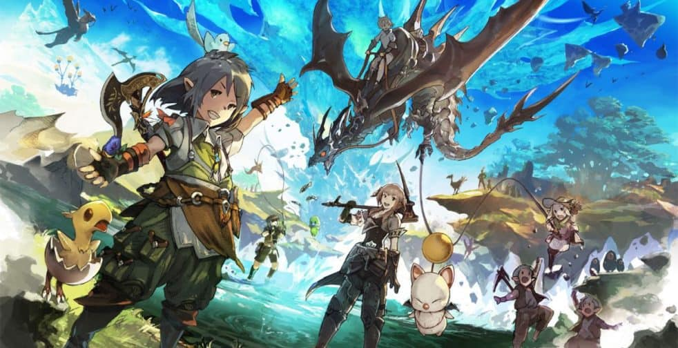 Final Fantasy XIV Does World Status Changes And Birthday Projects