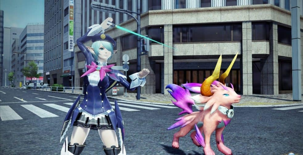 PSO2 x Persona 5 Collab is Here
