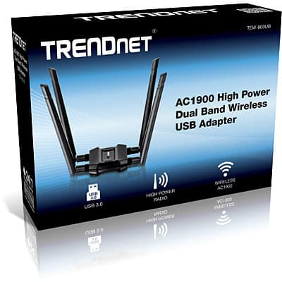 Trendnet TEW-809UB with Beamforming Technology